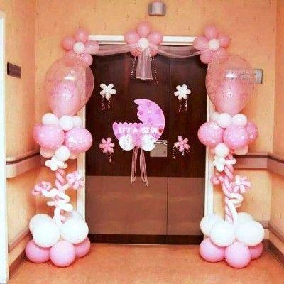1000 Newborn Baby Decoration Ideas You Must Consider In 2020 Welcome Home Baby Welcome Baby Girls Baby Door Hangers