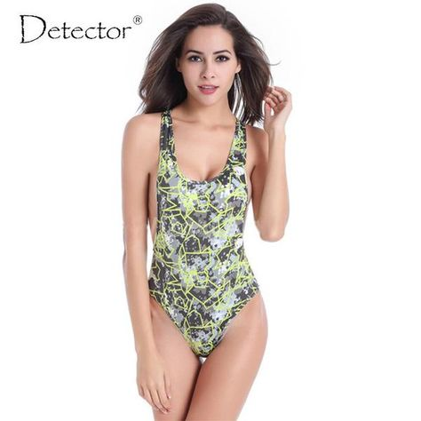 b0aa238dcad Detector Women Tankinis Bodysuit Sexy High Cut One Piece Swimsuit Backless Swimwear  Women Monokini Bathing Suit Beachwear