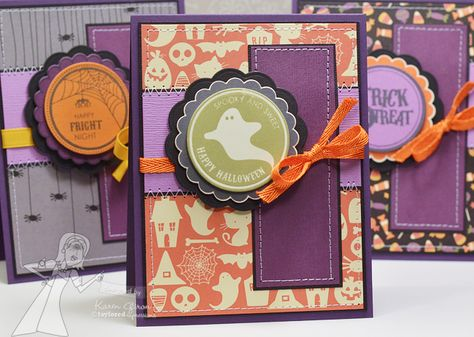 Totally Tags Halloween stamps from Taylored Expressions
