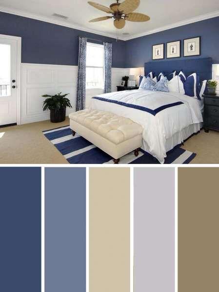 20 Beautiful Bedroom Color Schemes Color Chart Included Blue Bedroom Colors Bedroom Color Schemes Beautiful Bedroom Colors Bedroom interior design colors
