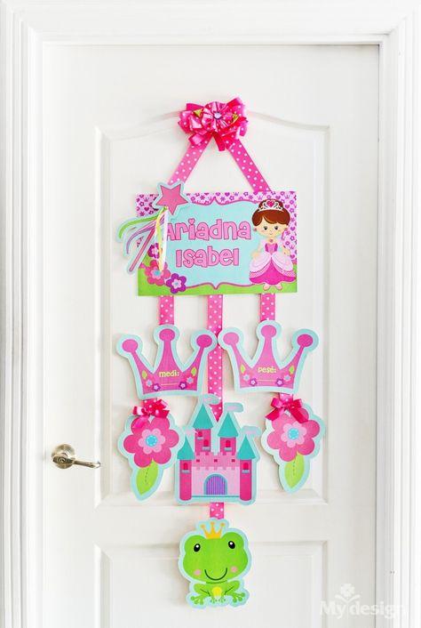Letreros Personalizados para puertas Adria Regalos Personalizados Decoracci/ónes para Dormitorios personalizada Letreros personalizados para Ni/ños o Ni/ñas Letreros para el Cuarto de los Ni/ños Carteles de Nombres Mia Works