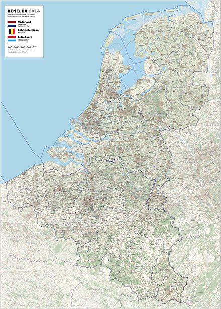 Benelux Belgien Niederlande Luxemburg