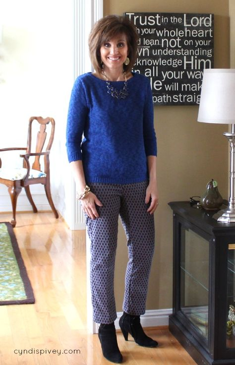 Winter Work Clothes For Women Over 40