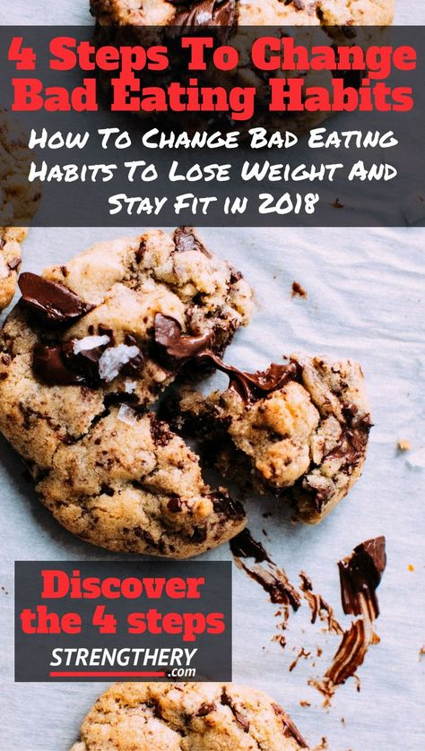 Changing your eating habits to lose weight