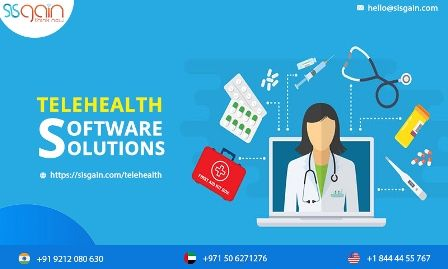 Telehealth Application Development Telehealth Software Solution Sisgain In 2020 Telehealth Medical Videos Development