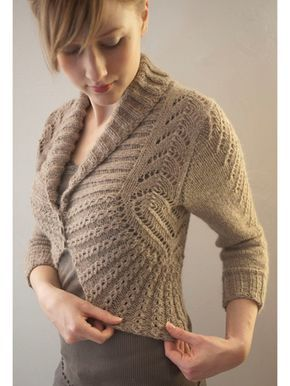Georgina Cardigan Knit Pattern