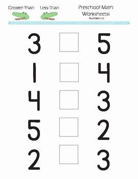 Math Worksheets For Kindergarten Greater Than Math Worksheets Kindergarten Math Worksheets Kindergarten Worksheets