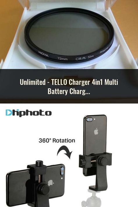 Tello Charger 4in1 Multi Battery Charging Hub For Dji Tello 1100mah Drone Intelligent Flight Battery Quick Charging Us Eu Plug Camera Lens Camera Lens
