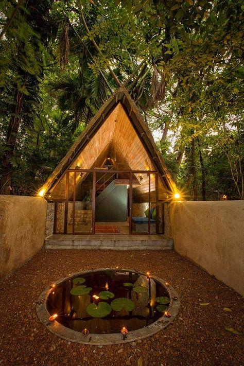 Tropical Chillatorium at Barberyn Ayurveda Resort, Weligama, Sri Lanka