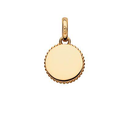 13471d1e60946 Narrative 18kt Yellow Gold Vermeil Mini Disc Charm, , hires | {I ...