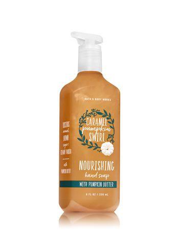 Caramel Pumpkin Swirl Hand Soap With Pumpkin Butter Bath And