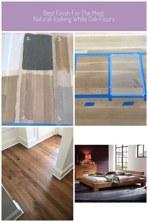 Most Natural Looking White Oak Floors