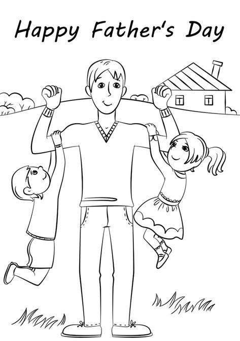 Happy Fathers Day Coloring Pages. Free printable Father's Day Coloring Pages For kids download and print.