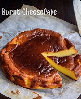 Basque Burnt Cheesecake Kue Keju Resep Masakan Resep