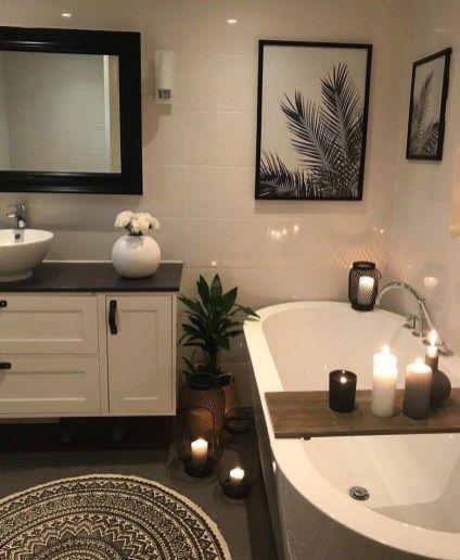 79 Luxury Small Bathroom Decorating Ideas 63 Smallbathroomzendesign Small Bathroom Decor Bathroom Decor Apartment Bathroom Decor