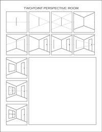 2 point perspective worksheet resultinfos. Black Bedroom Furniture Sets. Home Design Ideas