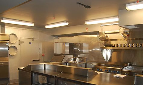 Emejing Commercial Kitchen Lighting Pictures - Home Decorating ...