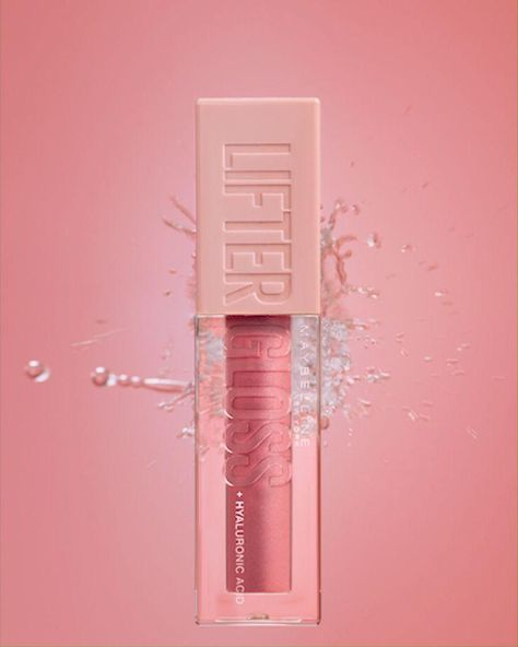 Lifter Gloss, Maybelline NY's new next-level lip gloss. Lip gloss formula visibly smoothes lip surface and enhances lip contour with high shine for hydrated, fuller-looking lips. Formula with Hyaluronic Acid.