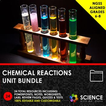 Unit Bundle Chemical Reactions And Rates Of Reaction Chemical