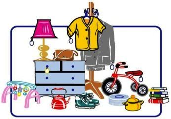 Donations Of Any Items Yard Sale Rummage Sale Clip Art