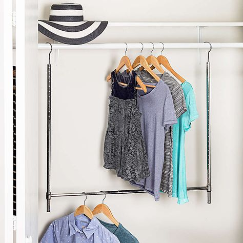 Control closet chaos with these effective, budget-friendly organization buys from Bed Bath  Beyond (@bedbathandbeyond). 👗 👔 👠