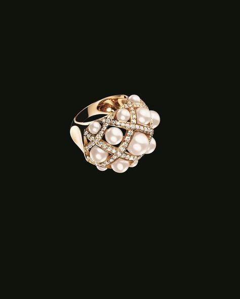 Moderniste Cultured Pearl /& 14kt Solide Or Jaune Bague taille 6.5