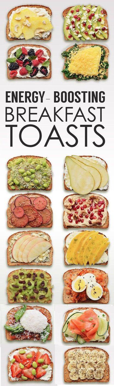 Energy-Boosting Breakfast Toasts
