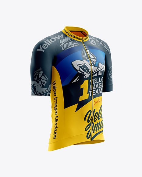 Free Mockups Men S Cycling Speed Jersey Mockup Right Half Side