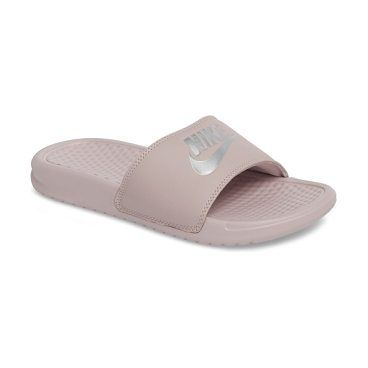 082966effd6e0 benassi jdi slide sandal by Nike. A nubby contoured footbed brings ...