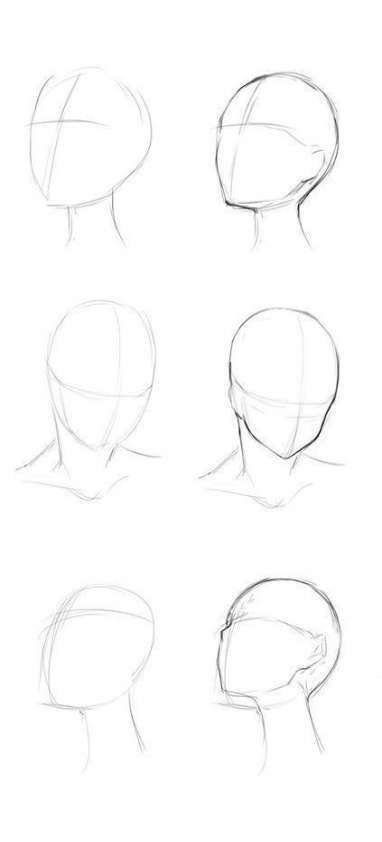 Drawing Anime Head Artists 15 Ideas Drawing Anime Zeichnungen Drawing Ideas Lip Drawing Pencil Art Drawings Anime Drawings Tutorials