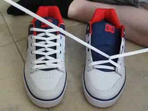 Shoe lace tying techniques, Shoe laces