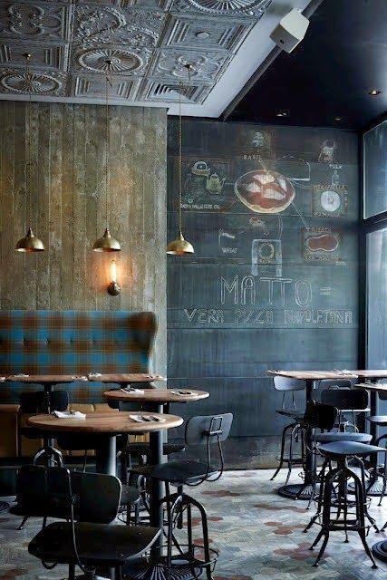 A Plaid Fixation Design Fixation Coffee Shop Decor Restaurant Interior Cafe Interior