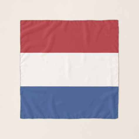 Square Scarf With Flag Of Netherlands Zazzle Com Square Scarf