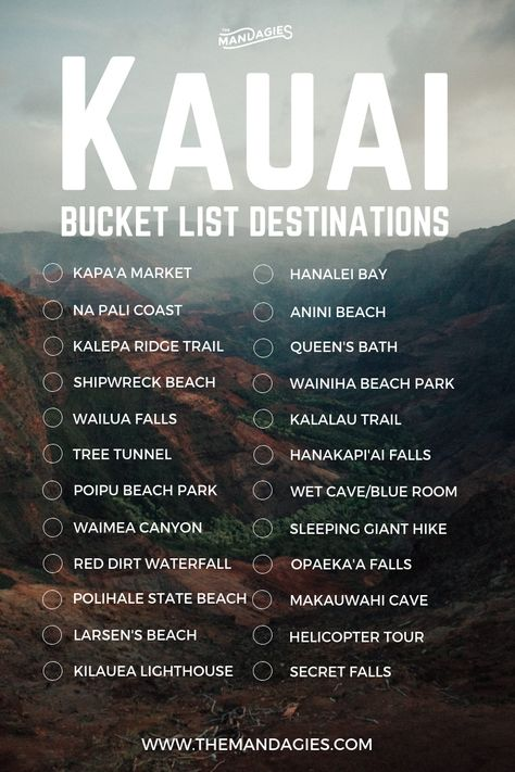 25 Once-In-A-Lifetime Things To Do In Kauai