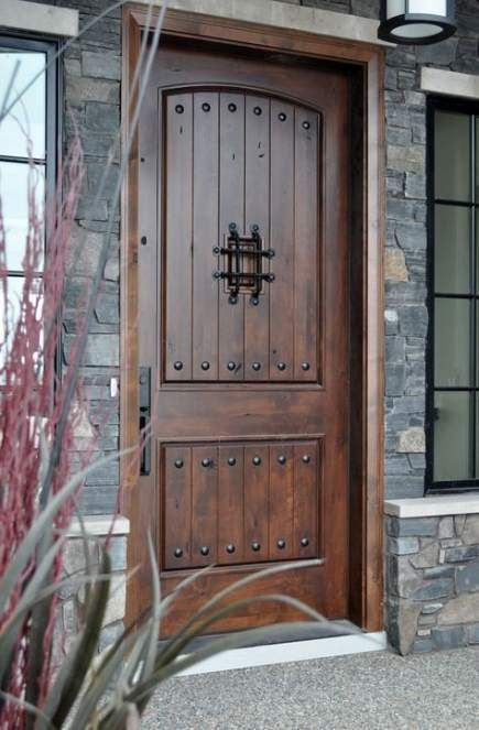 35 Awesome Wooden Exterior Door Ideas Exterior Doors With Glass