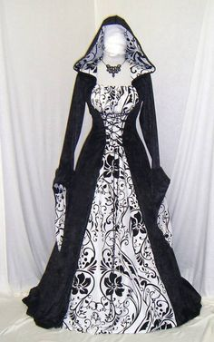 I have a purple one like this without the hood - I want this one now too! It came from: http://www.ebay.co.uk/sch/knights_in_white_satin/m.html