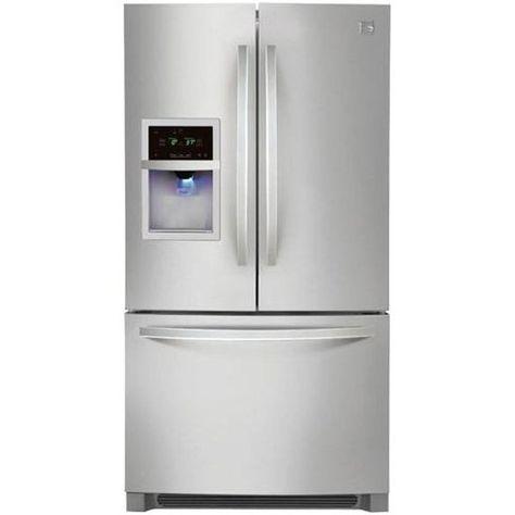 Kenmore French Door Refrigerators Review Pros And Cons French Door Refrigerator Stainless Steel Refrigerator French Doors