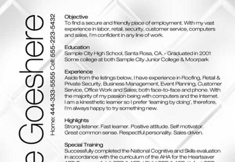 CV templates 3 Amazing Collection Of Free CV Resume Templates CV - beauty therapist resume