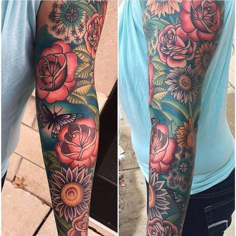 Ten Reasons Why You Shouldnt Go To Flower Tattoos Sleeves On Your Own | Flower Tattoos Sleeves
