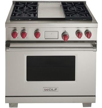 36 Inch Dual Fuel Professional Ranges