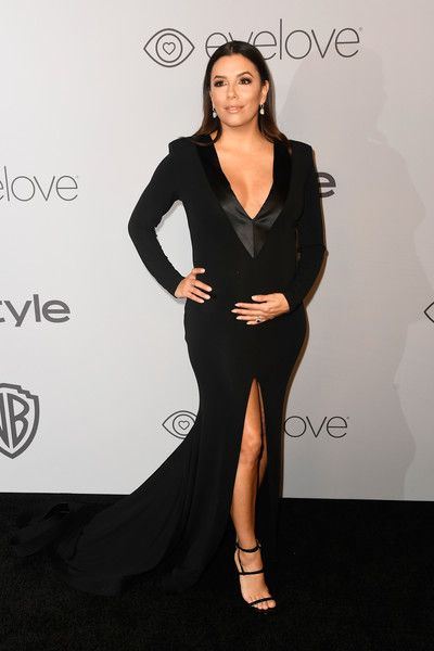 Actor Eva Longoria attends the 19th Annual Post-Golden Globes Party hosted by Warner Bros. Pictures and InStyle.