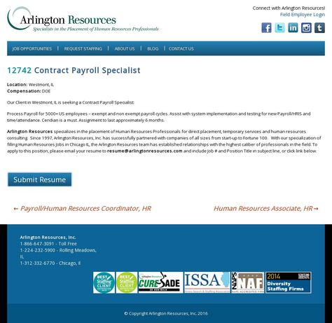 The website u0027http\/\/wwwarlingtonresources\/job-opening\/sr - submit resume