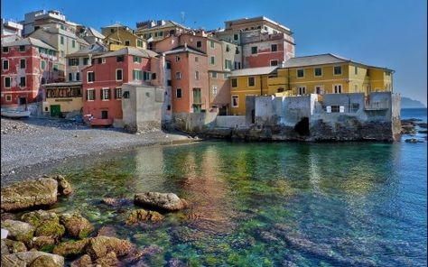 Genoa At the heart of the Italian Riviera lies the old, eclectic and fascinating city of Genoa, whose rough edges have not all yet been smoothed and yet a cert