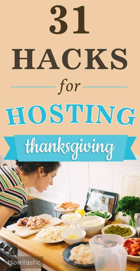 The best lifehacks for Thanksgiving out there that will make hosting Thanksgiving dinner a breeze.