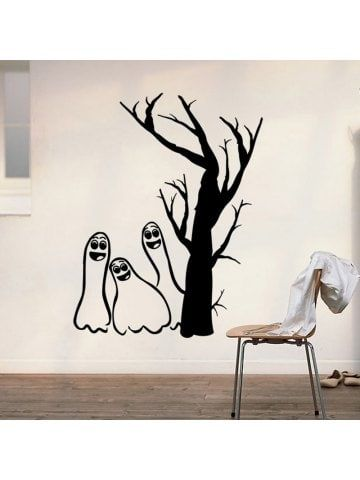 Halloween Bat Waterproof Home Wall Bathroom window Room Vinyl Decal Sticker
