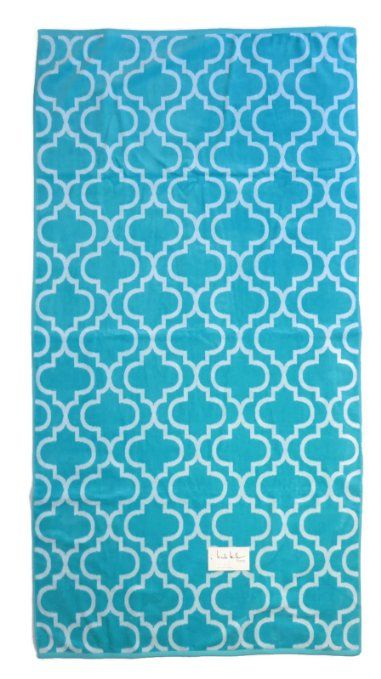 Beach Towel Oversized Nicole Miller Extra Large 36 X 68 Moroccan