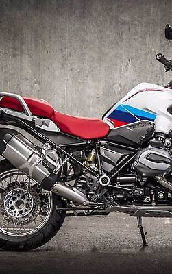 RGS Fuel Tank M Color PVC Cover Protector Plastic Sticker - Bmw motorcycle custom stickers decals