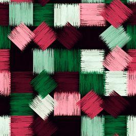 Seamless Geometric Abstract Pattern by Eduardo Doreni Seamless Repeat Royalty-Free Stock Pattern