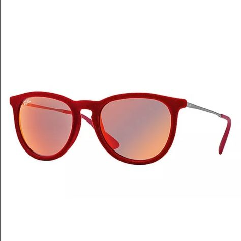 8a6b6c369757e Erika Velvet Red Mirror Ray Ban Sunglasses These authentic Ray-Ban RB4171  Sunglasses are the perfect accessory for the upcoming summer and festival  season.