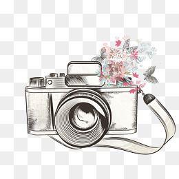 Download Gratis De Vector De Camera Vector Clipart Da Camera Fineragdoll Material Imagem Png E Psd Para Download Gratuito Camera Drawing Camera Art Flower Camera